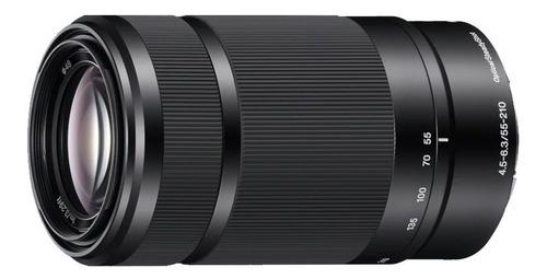 lente sony sel55210 mm f4.5-6.3 oss