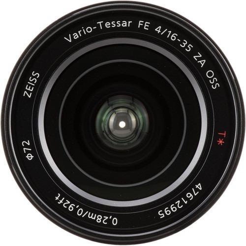 lente sony vario-tessar t* fe 16-35mm f/4 za oss com nfe
