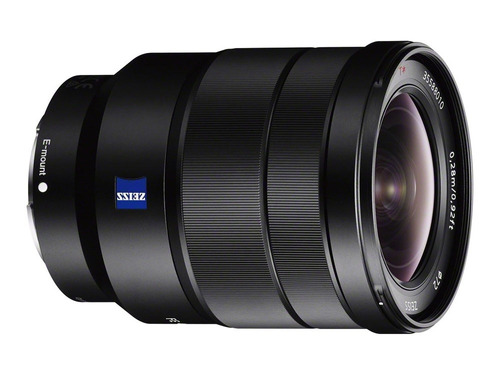 lente sony vario-tessar t* fe 16-35mm f/4 za oss objetiva