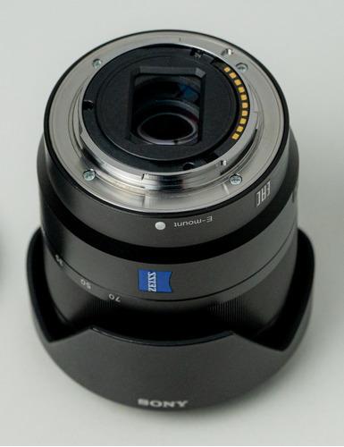 lente sony zeiss 16-70 f4 - excelente estado - completa