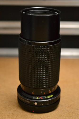 lente super albinon 80-200mm f5.5 para canon fd