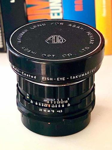 lente takumar pentax 67 6x7 35mm fish-eye fotografia