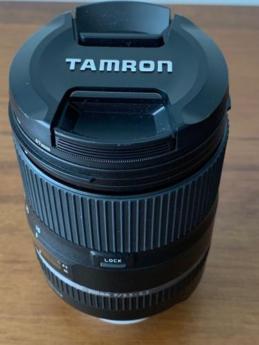 lente tamron 16-300 mm f/3.5-6.3 para nikon