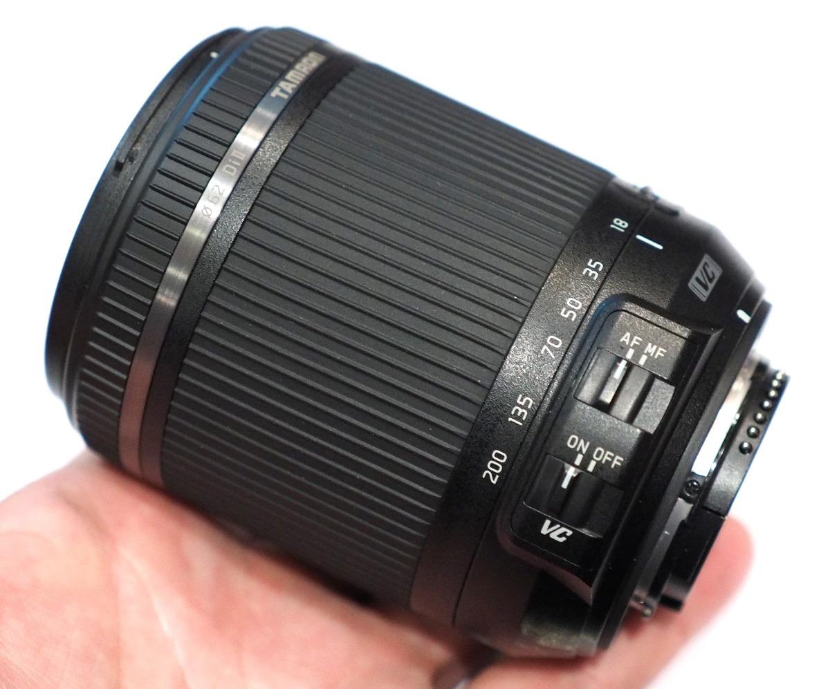 dc53a2f101 lente tamron 18-200mm di ii vc canon nikon + parasol filtro. Cargando zoom.