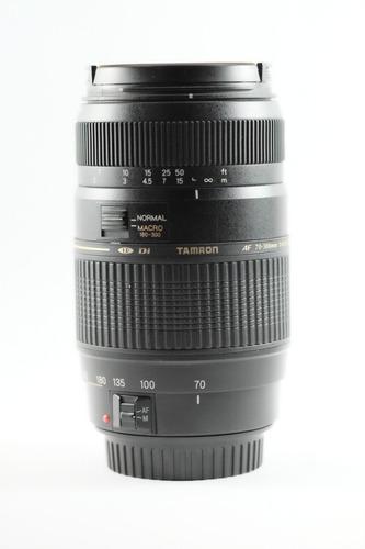 lente tamron 70-300mm macro para canon