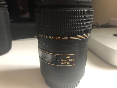 lente tamron 90 mm macro para canon