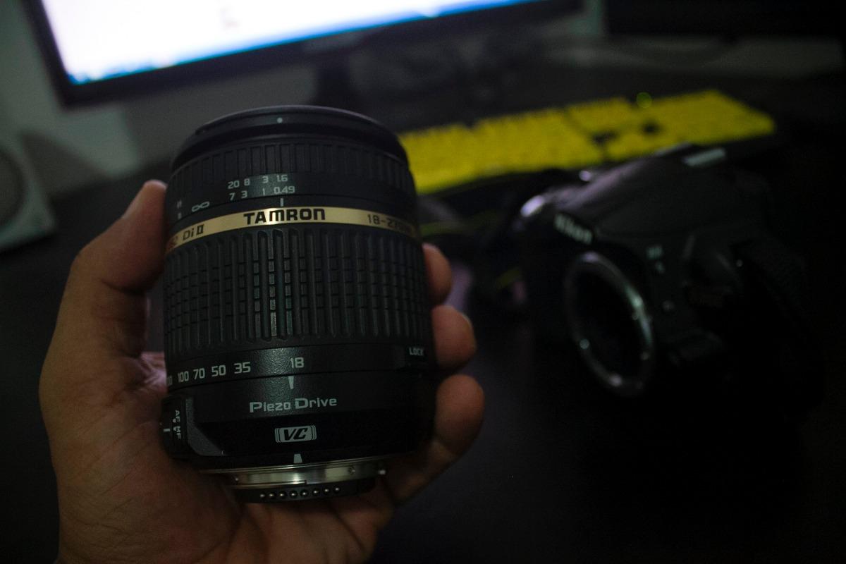 Lente Tamron Nikon 18 270 F 35 63 Di Ii Vc Pzd Af R 150000 Em For 200mm Carregando Zoom
