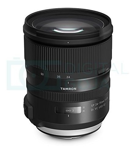 lente tamron sp 24-70 mm f / 2.8 di vc usd g2 para nikon f c
