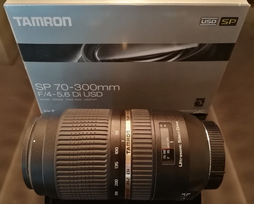lente tamron sp 70-300mm f/4-5.6 di usd para dslr/dslt sony