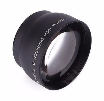 lente telefoto 2x zoom para canon y otras envio gratis