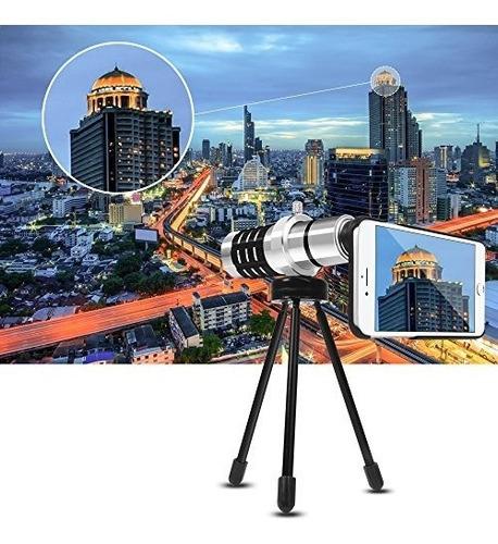 lente telefoto luxsure aluminio para iphone 7 plus/ 7/ 6s