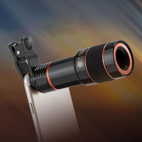 lente telefoto telescopio hd con zoom óptico x12