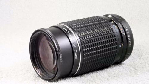 lente teleobjetivo asahi pentax smc pentax-m 200mm/4f