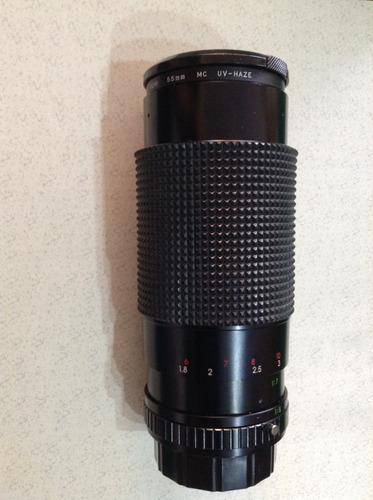 lente teleobjetivo macro 80/200mm