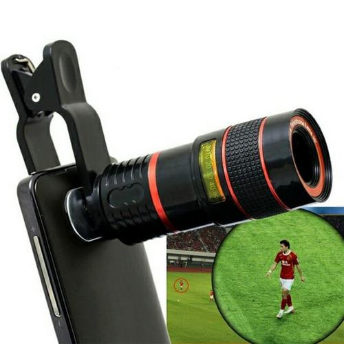 lente telescopio 8x universal para cámara del celular