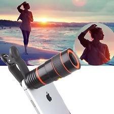 lente telescopio zoom óptico para celulares y tablets 8x
