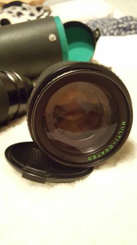 lente telezoom makinon 80-200mm 1:4.5 1:5 excelente estado