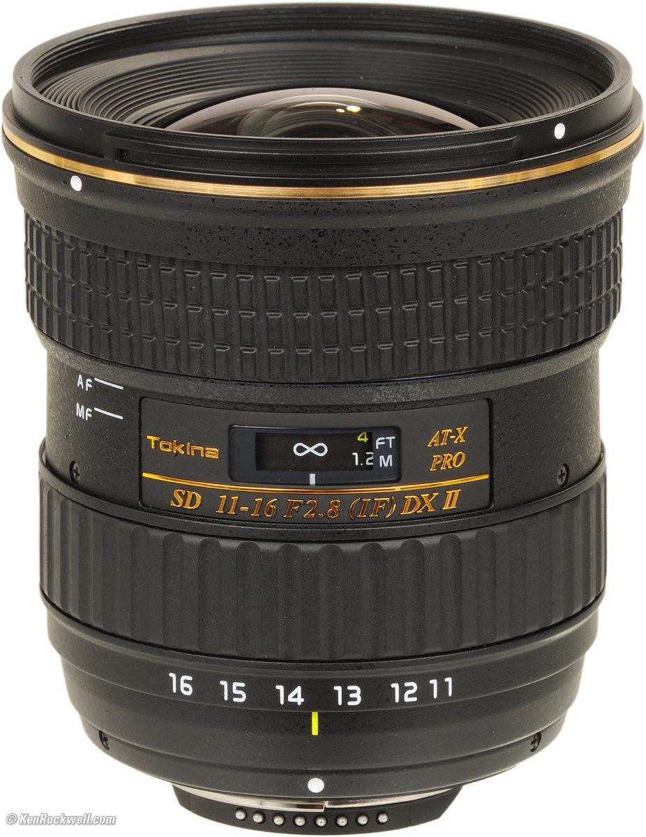 Lente Tokina 11-16mm F/2.8 At-x Pro Dx Ll (af-s) - $ 14,500.00 en ...