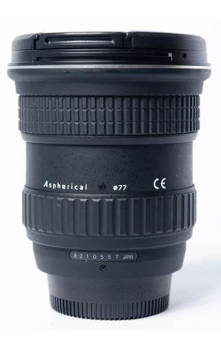lente tokina at-x 11-16 pro dx d7000 d7100 d7200 d7500 d90