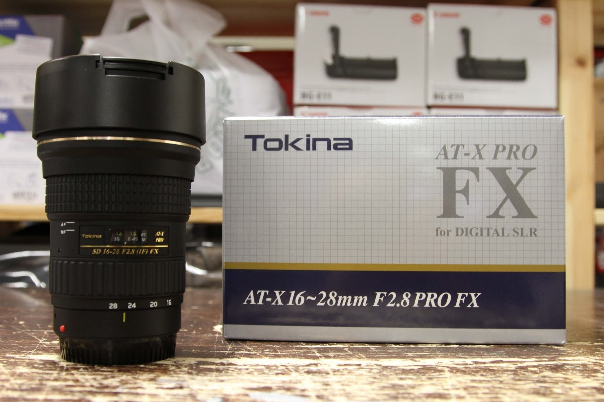 Lente Tokina At-x 16-28 Mm F2.8 For Nikon - Ds Store - $ 490.000 en ...