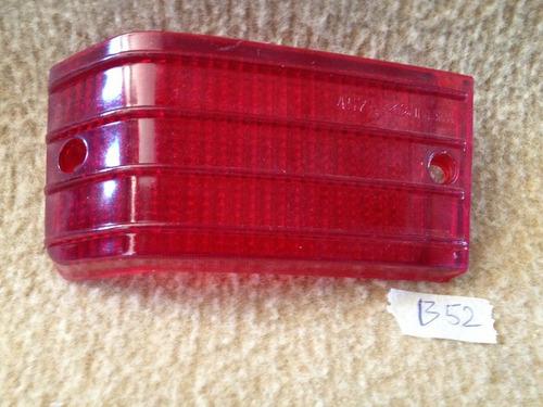 lente traseira lado esquerdo frisada vermelha, fiat 147