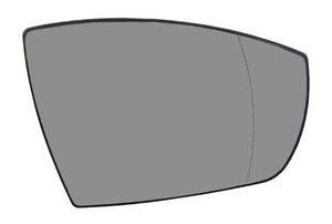 lente vidro base original retrovisor ford ecosport 2013 2014