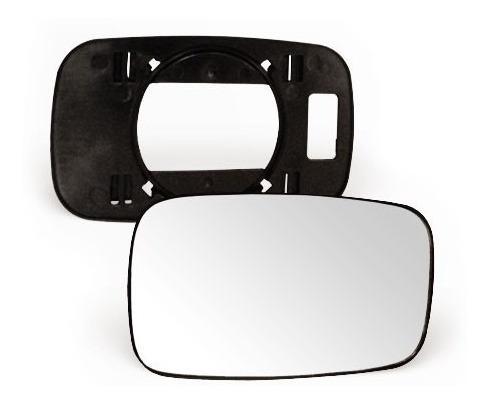 lente vidro + base retrovisor escort 87 a 92  lado direito