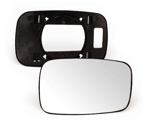 lente vidro + base retrovisor focus  2005 a 2008 direito