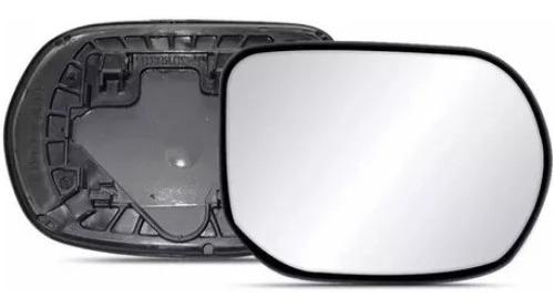 lente vidro com base retrovisor honda new civic 2007 a 2011
