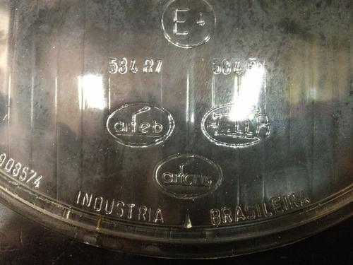 lente vidro farol fusca 73 a 75 original arteb hella novo