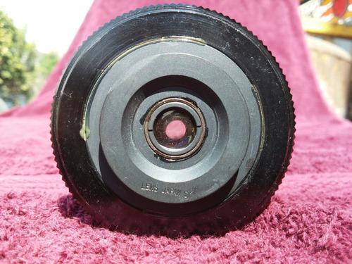 lente vintage sumergible camara reflex