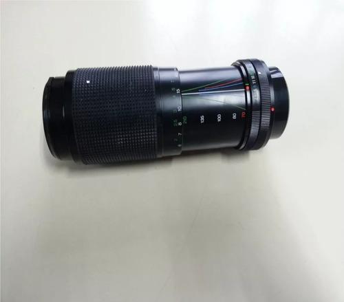 lente vivitar 70-210mm 1:4x macro/makro c/fd f4.5/5.6