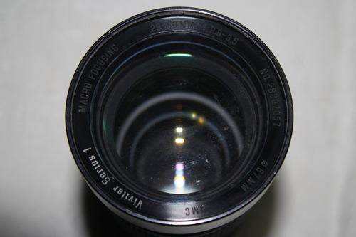 lente vivitar zoom con macro series 1 28-90 mm f/2.8-3.5