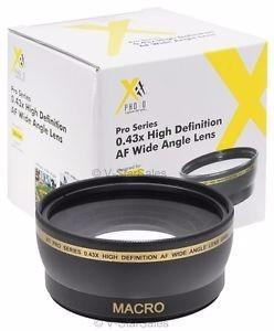 lente xit pro series 58mm 0.43x