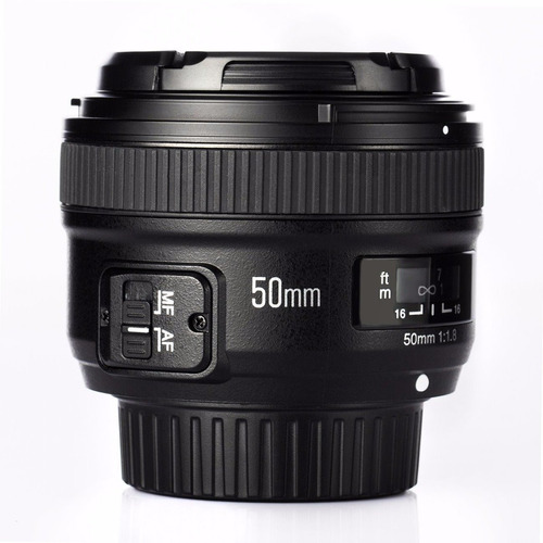 lente yongnuo 50mm 1.8 n  para nikon