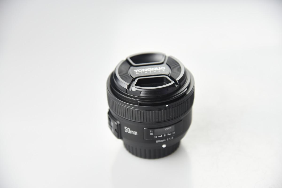 Lente Yongnuo 50mm F 1.8 Para Nikon - $ 2,369.00 en Mercado Libre