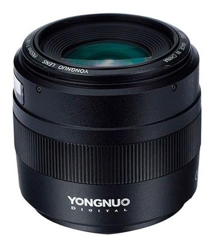 lente yongnuo 50mm f/1.4 para nikon original garantía