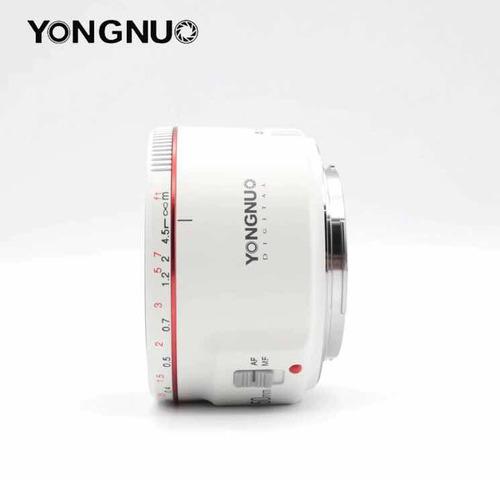 lente yongnuo 50mm ii  canon