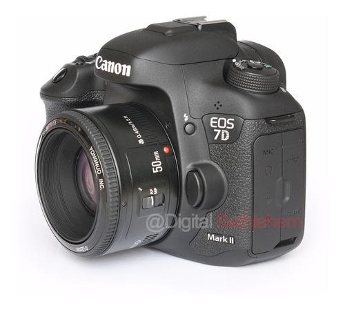 lente yongnuo de 50 mm ef 1.8 nuevo en caja