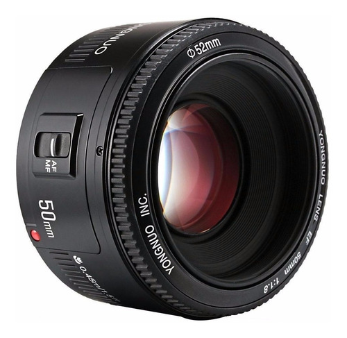 lente yongnuo nikon 50mm 1.8 af mf gran apertura d3400 d5500