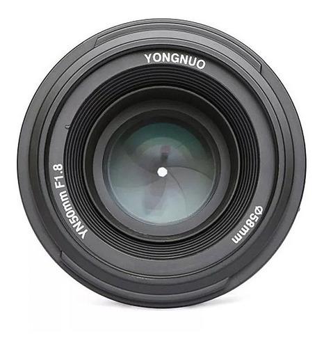 lente yongnuo nikon 50mm gran apertura 1.8 d5300 d3400 mf af