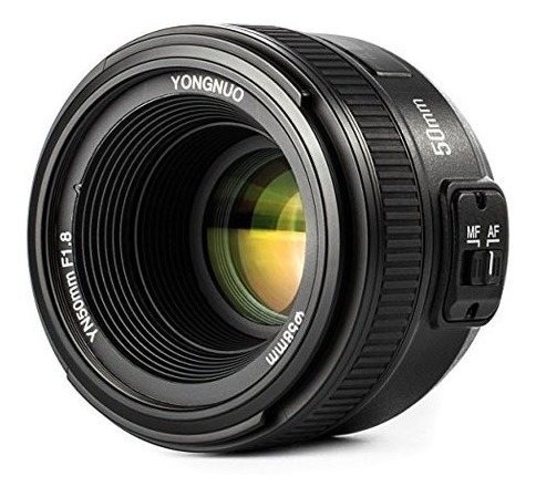 lente yongnuo yn-50mm f1.8 para camaras nikon