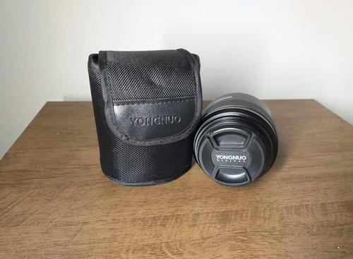 lente yongnuo yn 85mm f/1.8 p/ canon (lançamento)