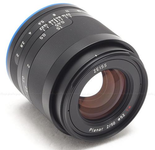 lente zeiss loxia 50mm f/2 planar e-mount