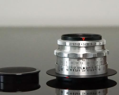 lente zeiss tessar chrome 50mm m42+adapt. sonya (a99-a77etc)