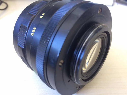 lente zenit helios - 44m 2/58 c/ adaptador [ aurora discos ]