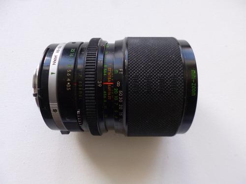 lente zoom  39-80 mm marca sigma para minolta