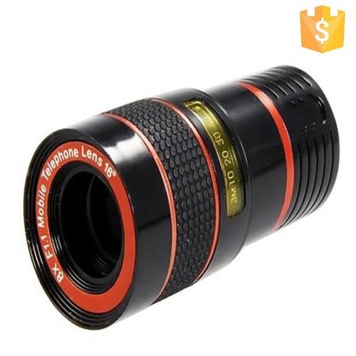 lente zoom 8x para celular de enfoque largo