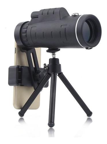 lente zoom aumento 40x60 / monocular con trípode /  para cel