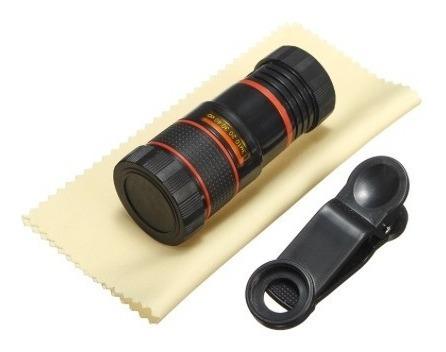 lente zoom celular 8x con clip